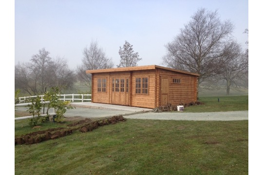 44mm & 68mm Log Cabins